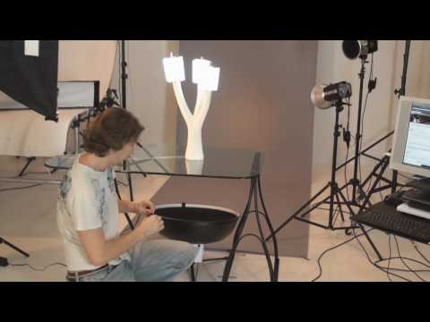 Lighting the lights: a tabletop lamp product photography tutorial, part 1