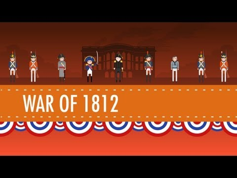 War - In which John Green teaches you about the War of 1812. The War of 1812 was fought between the United States and its former colonial overlord England. It star...