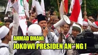 Video Menjijikkan, Orasi Kotor Ahmad Dhani Pada Presiden Jokowi Tuai Kecaman MP3, 3GP, MP4, WEBM, AVI, FLV Mei 2018