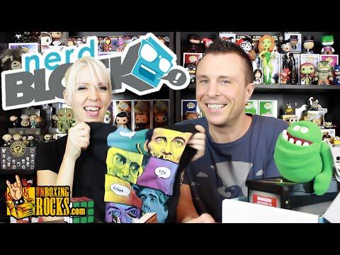 "Nerd Block Classic (August 2015) ""Summer Mixtape"" Unboxing Review"