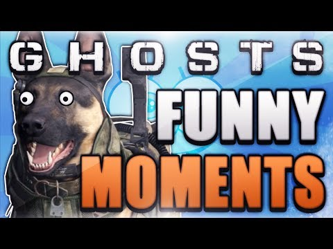 COD Ghosts Funny Moments – FLYING DOG GLITCH! (Girl Rage, and Crazy Fails)