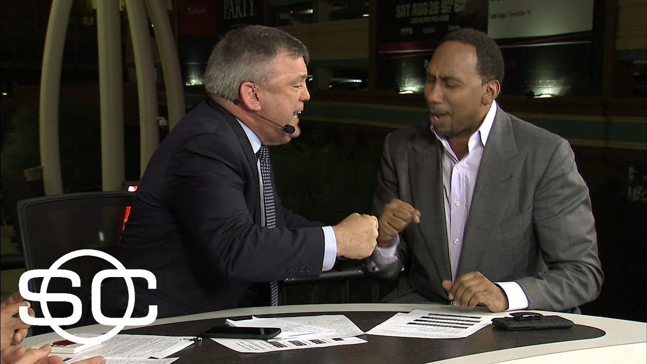 Stephen A. Smith and Teddy Atlas turn Mayweather analysis into