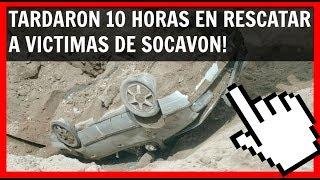 """HEY!!! MAS NOTICIAS SOCAVON!""""Socavon Cuernavaca"""" https://goo.gl/oCHfjG""""La Doñita y el Socavon"""" https://goo.gl/9DS56m""""Peña Opina del Socavon"""" https://goo.gl/RsuWo6""""Que es un Socavon"""" https://goo.gl/khqqJc""""Drone entra en Socavon"""" https://goo.gl/gpbHoH""""Datos del Socavon"""" https://goo.gl/gYY1ni""""Rescate Socavon"""" https://goo.gl/qYtRcp""""Socavon Paso Express"""" https://goo.gl/oL2wo6-----------------------------------------------------------------Tardaron 10 Horas en Rescatar Heridos de Socavon Paso Express #CuernavacaPersonal de rescate recuperó del socavón a Juan Mena López, de 65 años, y de su hijo Juan Mena Romero, de 33, quienes viajaban a bordo de un vehículo tipo Jetta color gris. Más de 10 horas tardaron en sacar con grúa, el que vehículo cayo 8 metros de profundidad en el socavon a la altura de Palmira. Cuando el auto cayo en el socavon, los ocupantes estaban vivos y con algunas raspaduras, de hecho desde el interior del auto llamaron por teléfono a sus familiares, quienes se comunicaron con las autoridades y proporcionaron datos de los ahora occisos. Por la forma el auto quedo de cabeza y con tierra encima, lo cual trabo las puertas del auto y bloqueo las ventanas, con este panorama el rescate de los ocupantes era crucial en los próximos minutos, ya que estos en poco tiempo y debido al aplastamiento del auto, se quedarían sin oxigeno. Los minutos fueron pasando y el socavon se llenaba de agua por las intensas lluvias, produciendo lodo, los ocupantes esperaban al cuerpo de rescate lo mas pronto posible, sin embargo estos no llegarían sino hasta 10 horas mas tarde... Hoy se sabe que la familia recibirá una indemnización de 500 mil pesos por cada miembro y que a cambio deslindaran de responsabilidades tanto al gobierno mexicano, como a la compañía constructora.-------------------------------------------------""""NOTICIAS MÉXICO HOY"""" https://goo.gl/OW6Ax5 -------------------------------------------------""""TENDENCIAS INTERNET"""" https://goo.gl/9y0Nsu""""NOTICIAS MEXICO"""" https://goo."""