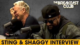 Video Sting & Shaggy Come Together For Reggae Music, Talk Lifestyle Changes, Old Hits + More MP3, 3GP, MP4, WEBM, AVI, FLV Maret 2018