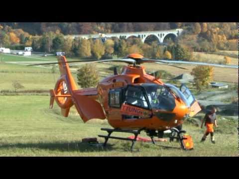 Willingen: Junge stürzt mit MTB: Hubschrauber