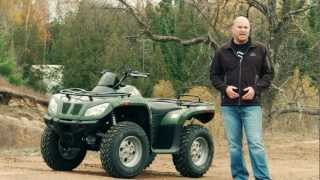 6. ATV TEST RIDE: 2012 Arctic Cat 450i