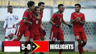 Video Indonesia U-19 vs Timor Leste Ft- 5-0 All Goals Higlights AFC Qualifiers 02/11/2017. MP3, 3GP, MP4, WEBM, AVI, FLV Desember 2017