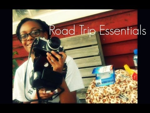 BeautyBooties - This is what I keep in my bag on a road trip. I will be in the car for over 6 hours, I brought plenty of things to entertain myself. Music || Bastille Instru...