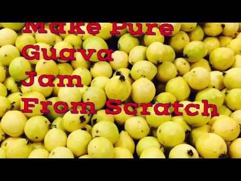 Jamaican Guava Jam/Jelly Recipe Video-How To Make