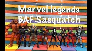 Video Marvel Legends BAF SASQUATCH action figure toy review MP3, 3GP, MP4, WEBM, AVI, FLV Juli 2018