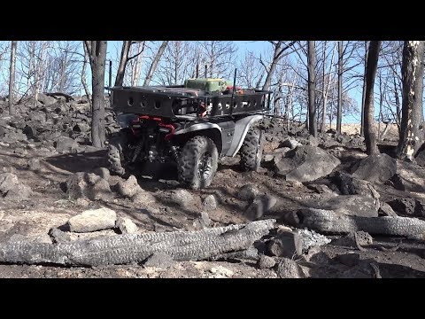 Honda Autonomous Work Vehicle: Wildland Firefighting Use Case