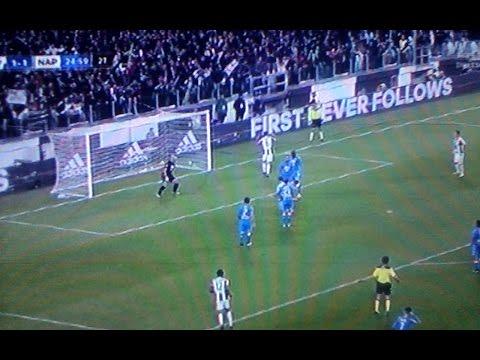 juventus napoli 2 1 gol higuain - telecronaca zuliani
