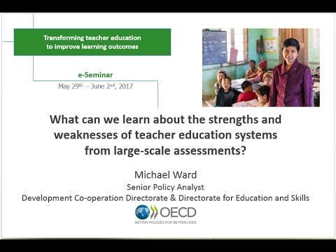 Michael Ward - IIEP e-Seminar presentation - May 2017