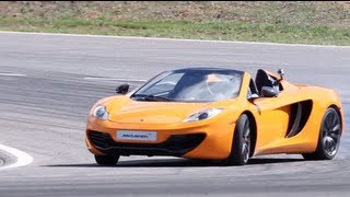 Mclaren Mp4-12c Spider First Drive - Chris Harris On Cars