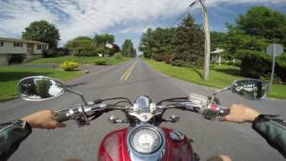 9. 2006 Yamaha V star 1100 custom test drive review