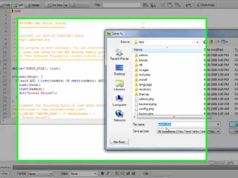 How To Install PHP-Nuke (by BlueLayerMedia.com)