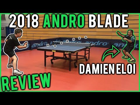 andro Treiber FO blade review with Damien Eloi