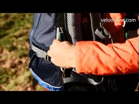 Видео о Велосипедный рюкзак Deuter TRANS ALPINE 30 5050 fire