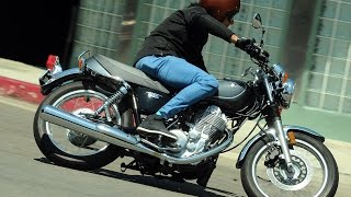 6. 2015 Yamaha SR400 First Ride - MotoUSA