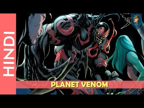 Planet Venom Complete Story Explain In Hindi/marvel Comics In Hindi | Cartoon Freaks