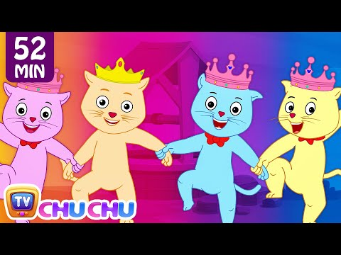 Jack and Jill and Many More Nursery Rhymes Collection by Cutians™ - The Cute Kittens | ChuChu TV (видео)