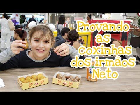 Kinoplex - 036 - Provando as coxinhas dos Irmãos Neto no Shopping Tijuca