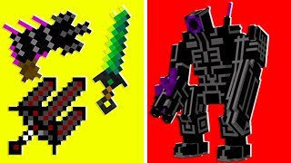 Minecraft -  We Stole Alien Ray Guns in Crazy Craft | JeromeASF