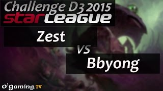 Zest vs Bbyong - Starleague 2015 Season 2 Challenge - Day 3