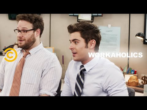 Uncensored - The Workaholics Guys Find a New Cubicle Mate (feat. Seth Rogen and Zac Efron)