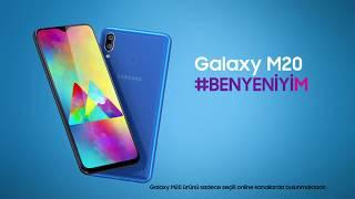 Karşınızda Galaxy M20 #BenYeniyiM