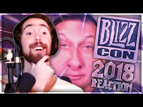 "Asmongold Reacts to ""World of Warcraft - BlizzCon 2018 Preview"""