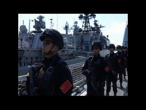 Κοινές ναυτικές ασκήσεις Ρωσίας Κίνας