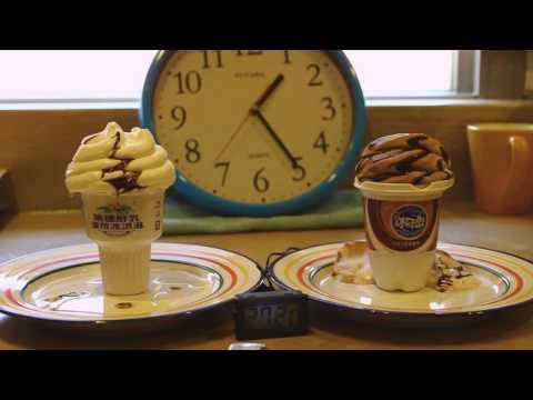 冰淇淋六小時不溶化實驗~縮時快轉5000倍速度!