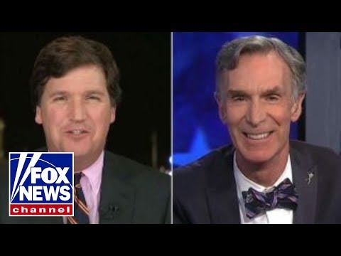 Bill Nye kept getting interrupted last night while trying to talk about climate change