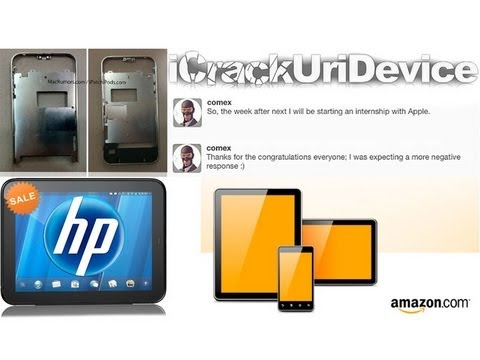Leaked iPhone 5 Parts, HP TouchPad Sale, Steve Jobs Resigns From Apple, Amazon Tablets & More