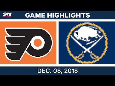 NHL Highlights | Flyers vs. Sabres - Dec 8, 2018