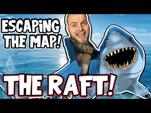 ESCAPING THE MAP!! - THE RAFT! [4] (видео)