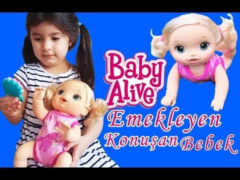 Baby Alive Emekleyen Bebeğim /Baby Go Bye /Ada'ya Ablasından Doğum Günü Hediyesi / Baby Alive Türkçe