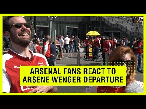 Video: Arsenal fans on Wenger - when did you hear the news?