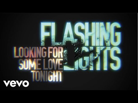 Flashing Lights Lyric Video