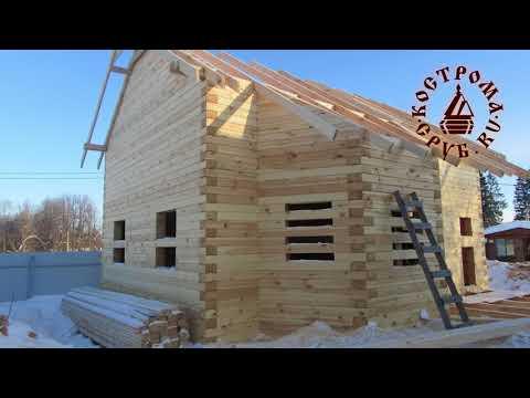Отзыв о работе по строительству дома из бруса.