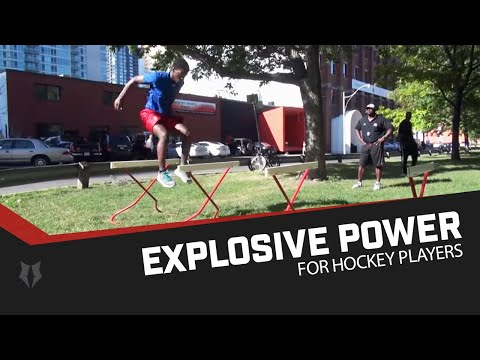 Explosive Power for Hockey Players – High Hurdles In Off-Ice Workouts