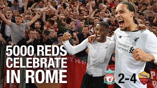 Download Video Incredible scenes: 5,000 travelling Reds celebrate in Rome MP3 3GP MP4