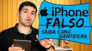Saiba como identificar um iPhone falso
