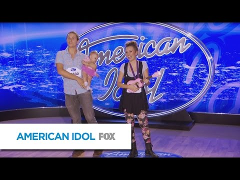 AMERICAN IDOL: Audition Episode No. 1 Alex Sasser auditions with a little help form Bruno Mars
