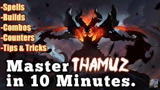 Video Master Thamuz in 10 Minutes | Mobile Legends Bang Bang MP3, 3GP, MP4, WEBM, AVI, FLV November 2018