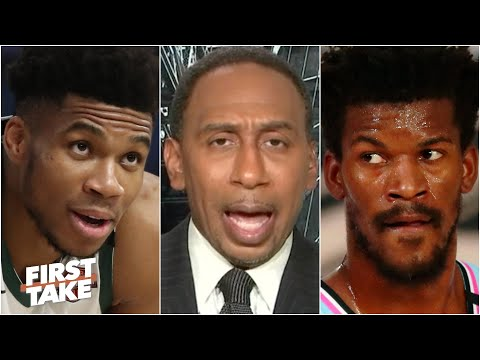 Stephen A.: I have a 'funny feeling' the Heat will defeat the Bucks | First Take