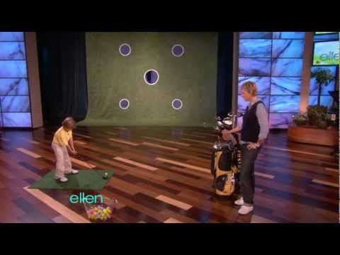 He Started Playing Golf When He Was One-Year-Old. He Could Be The Next Golf Prodigy!