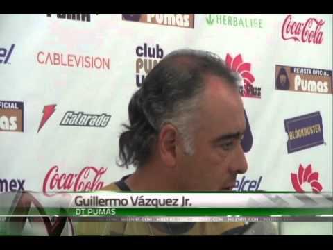 Guillermo Vázquez Herrera en una  rueda de prensa
