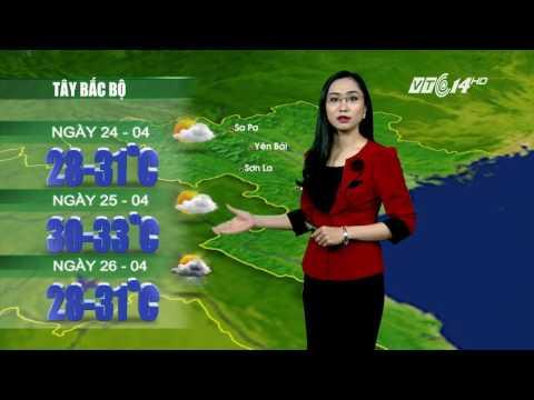 (VTC14)_Thời tiết 12h ngày 23.04.2017